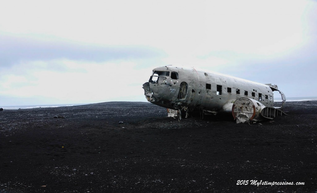 The plane wreck on the South coasts of Iceland
