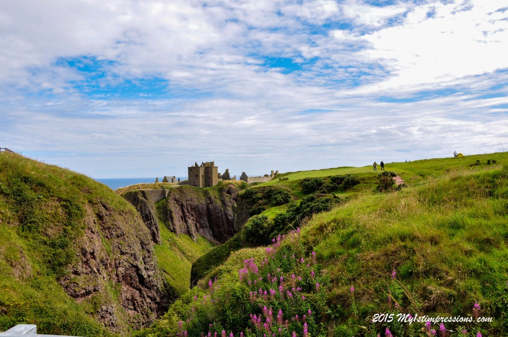 Dunnottar castle and its scenic view
