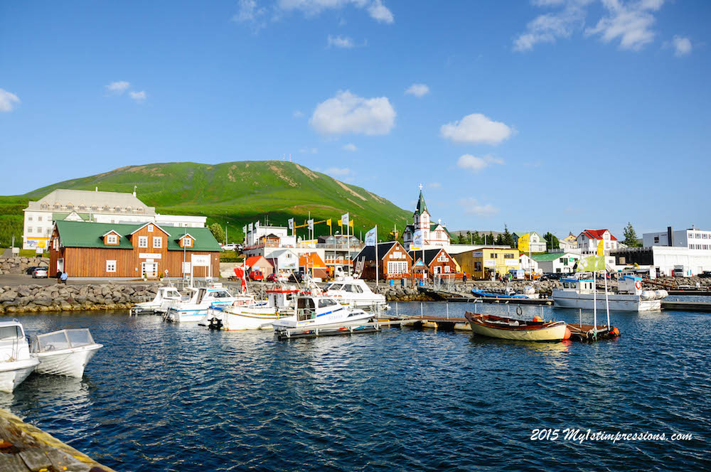 Husavik in all its glory.