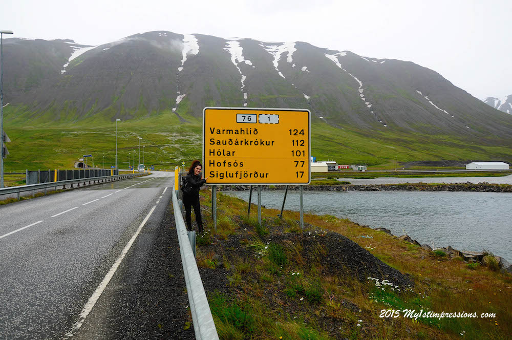 Hitch-hiking in Iceland