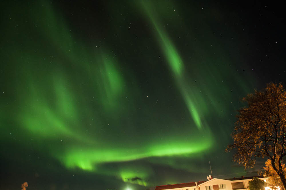 Northern Lights in Myvatn