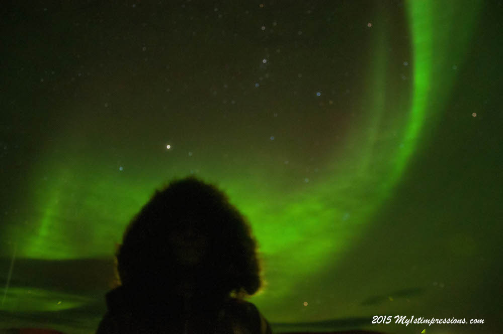 Under the Northern Lights of my magic Iceland