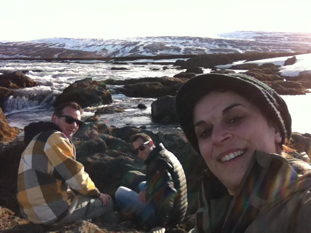 With Johannes and Frank road tripping across Iceland last April
