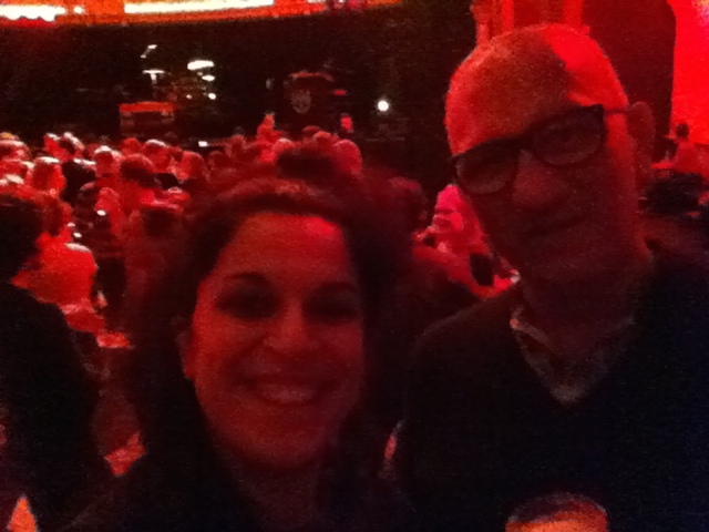 With Gio, my best friend, at The Cat Empire concert, in Amsterdam