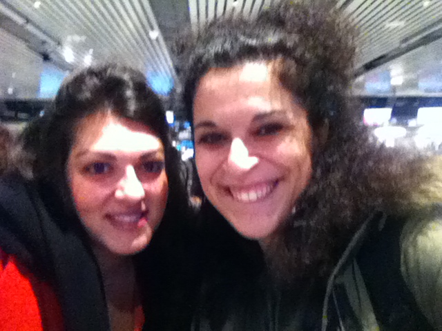 With Despina, traveling to Istanbul and Athens together