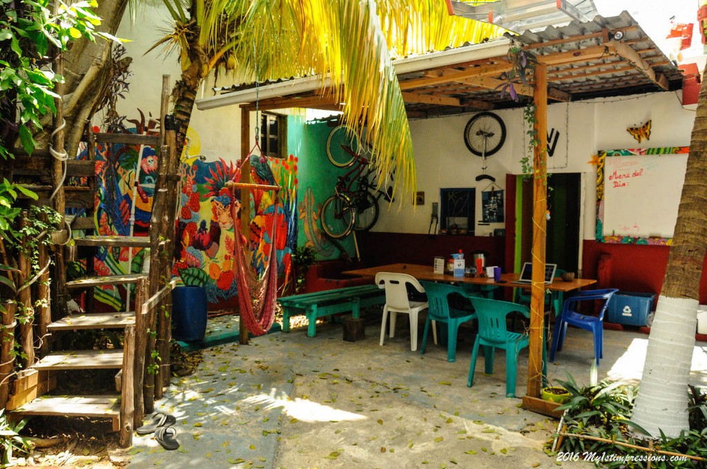 Playa del Carmen hostel, Mexico