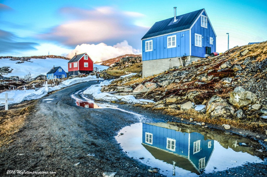 Kulusuk cemetery, Greenland