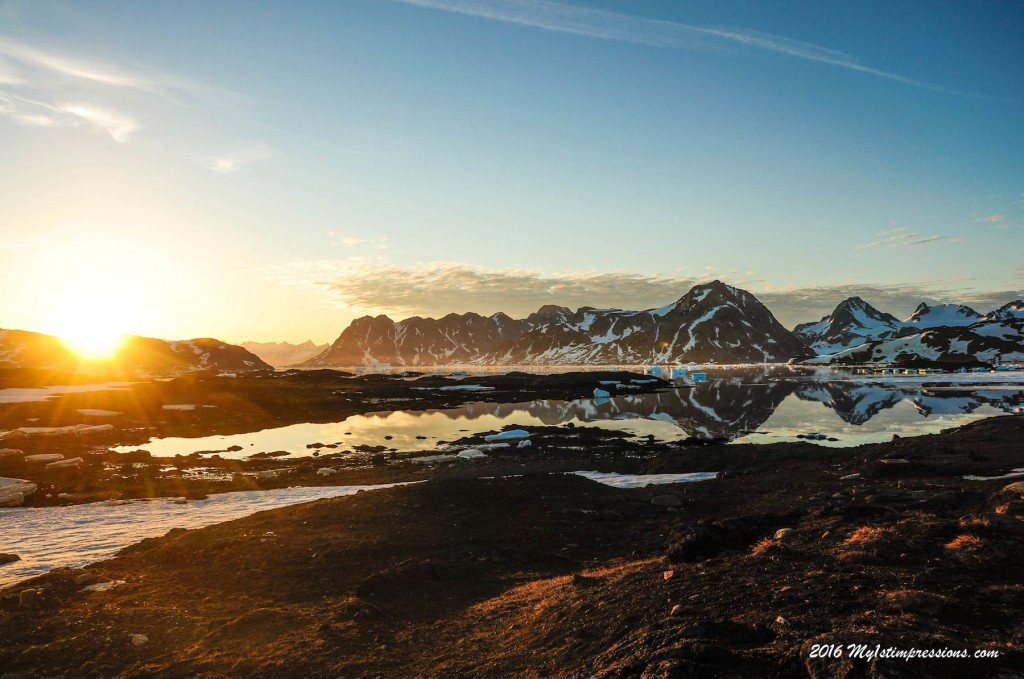 Greenland, Midnight sun