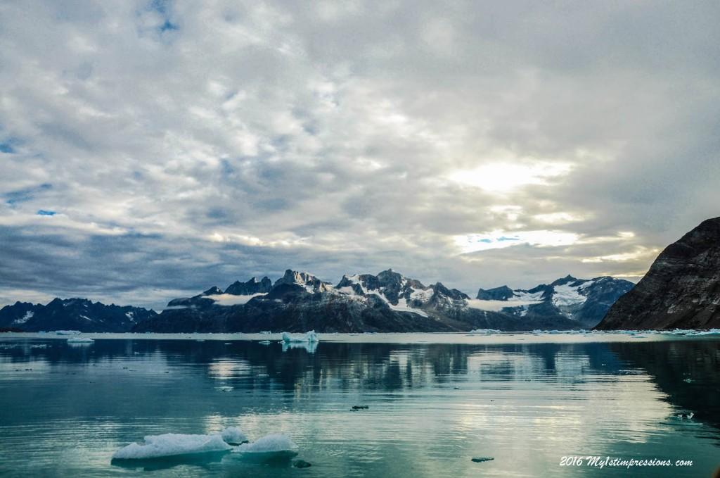 Knud rasmussen glacier, greenland,