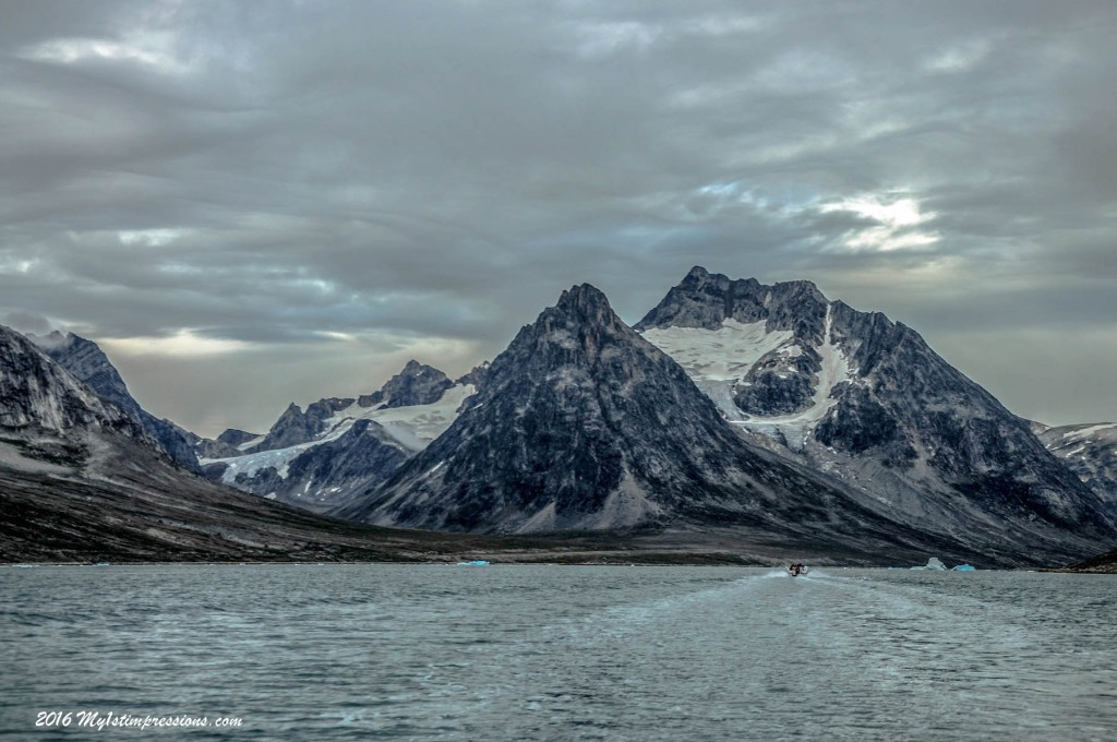Greenland by boat