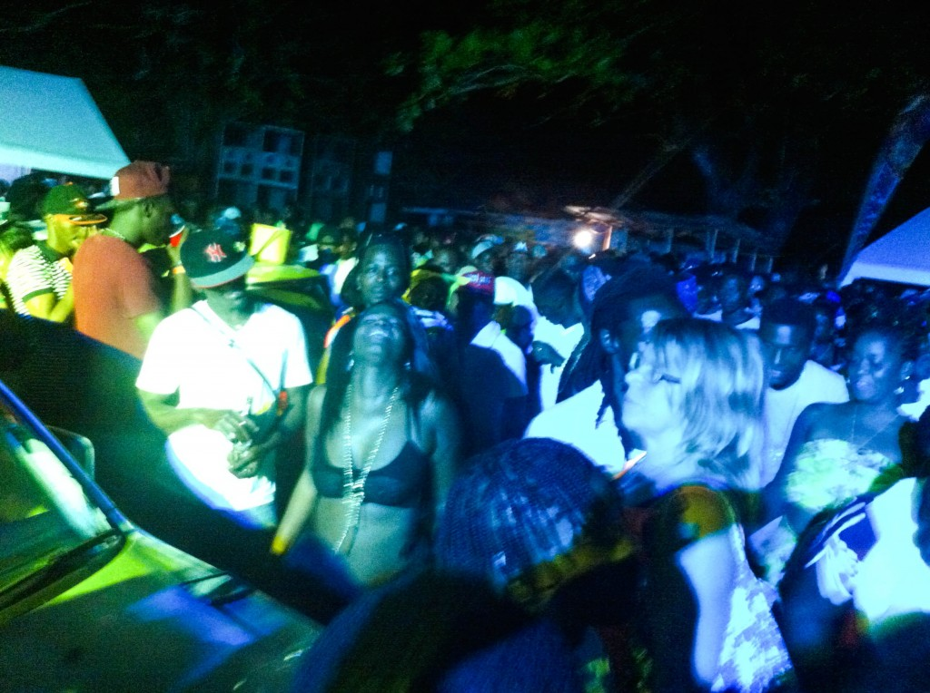 Jamaica, Port Antonio, reggae party, beach,