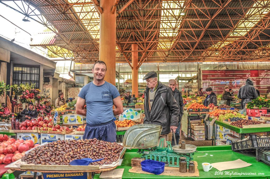 Sarajevo market, sarajevo, Bosnia,