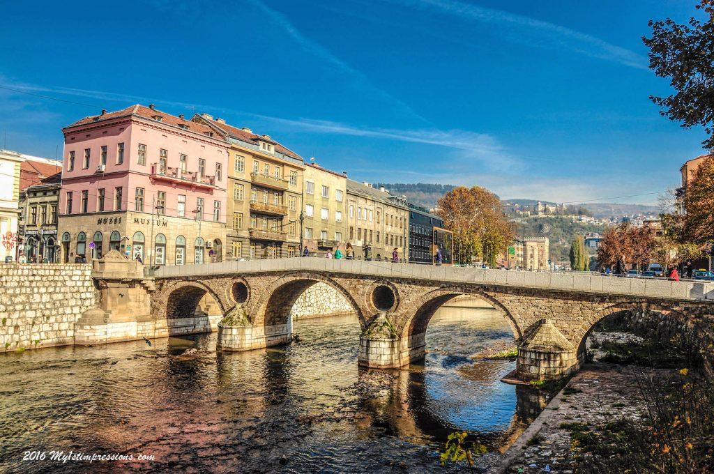 Sarajevo, bridge, WWI,
