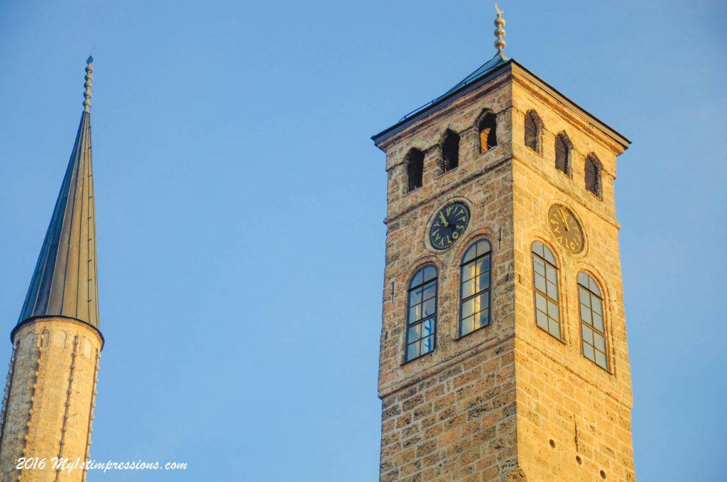 Lunal clock, sarajevo, bosnia, muslim