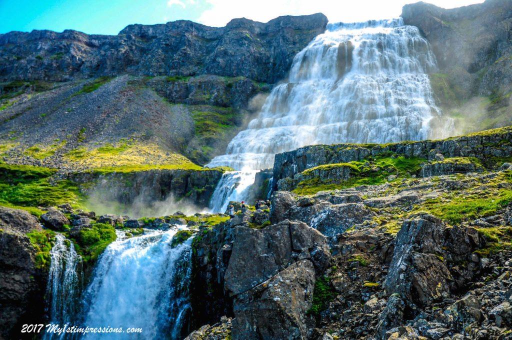 Dynjandi, waterfall, westfjords, Iceland