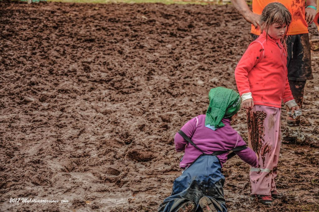 Mud football in Bolungarvik, Westfjords