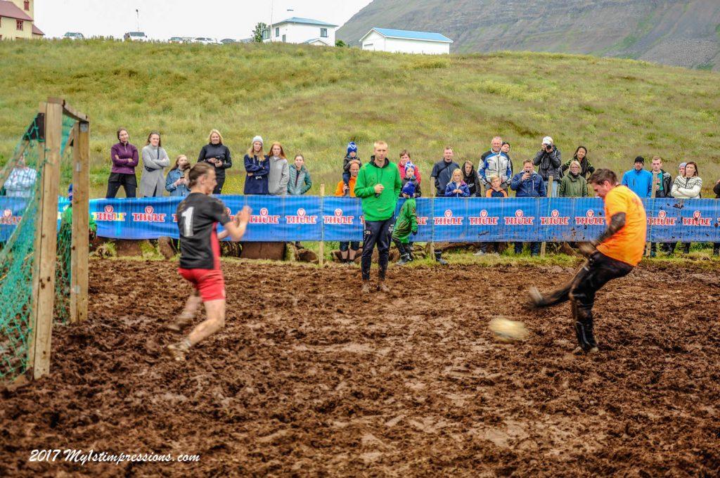 mud football,westfjords, bolungarvik