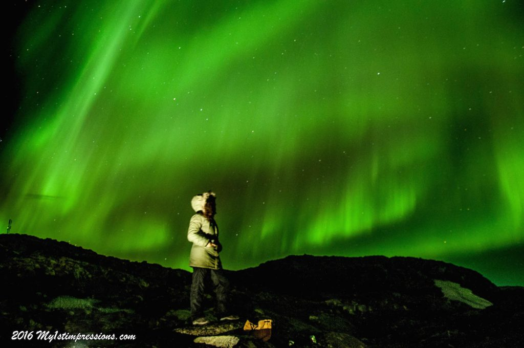 Northern Lights, Aurora Borealis, Greenland