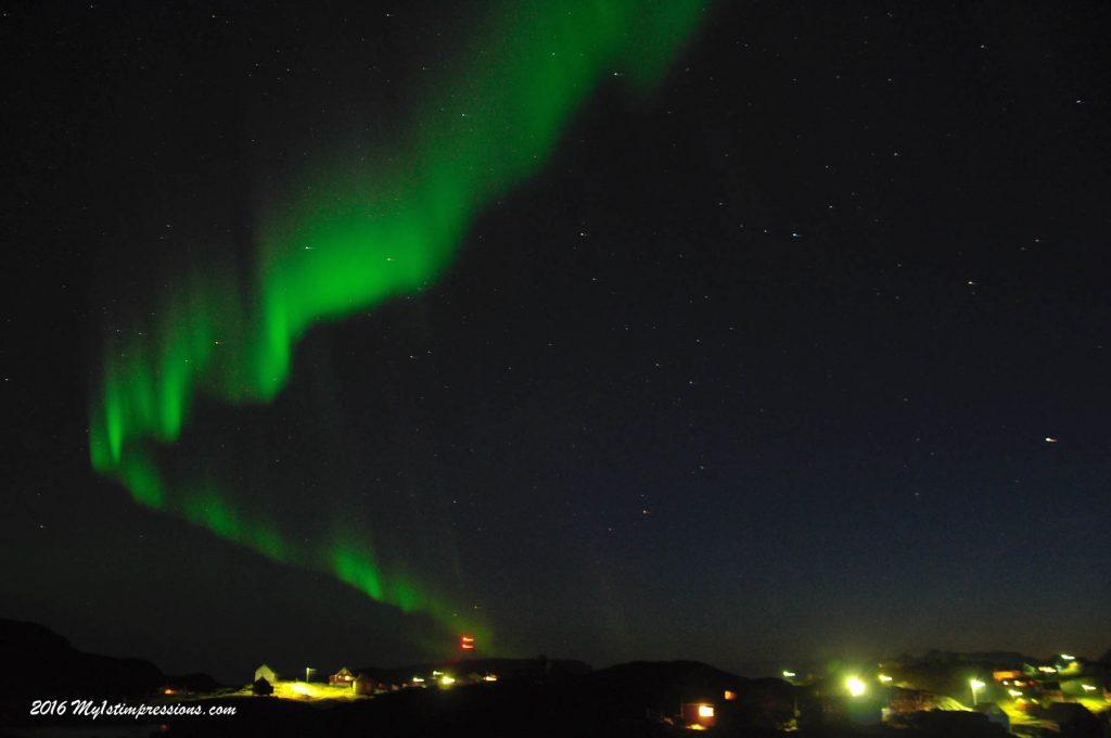 Northern lights, Kulusuk