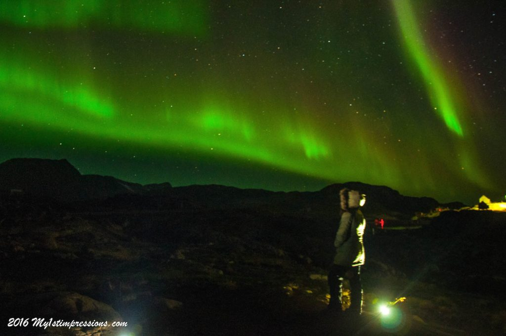 Northern lights, Greenland