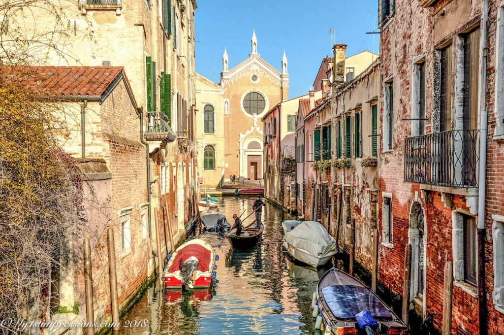 Venice canals, canali di Venezia