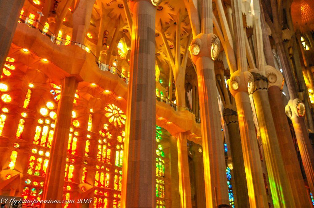 Sagrada familia, barcelona, gaudì