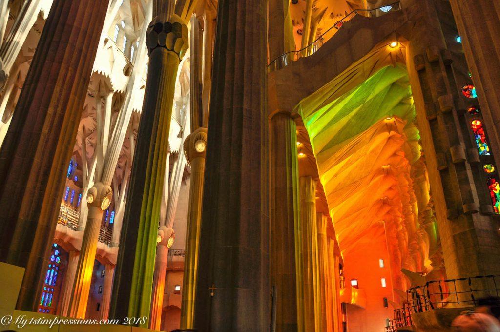 Sagrada familia, gaudì, barcelona, spain