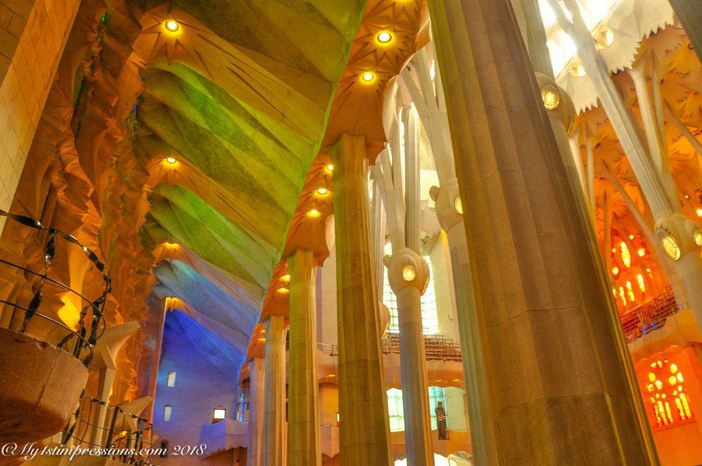 Sagrada familia, barcelona, gaudì, modernism