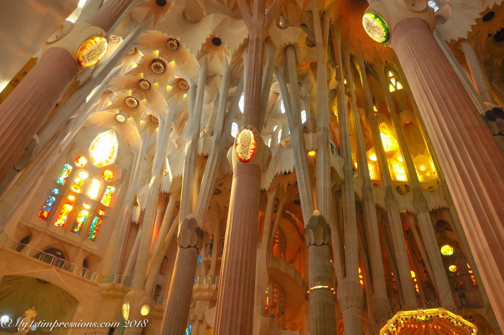 Sagrada familia, gaudì. barcelona, spain