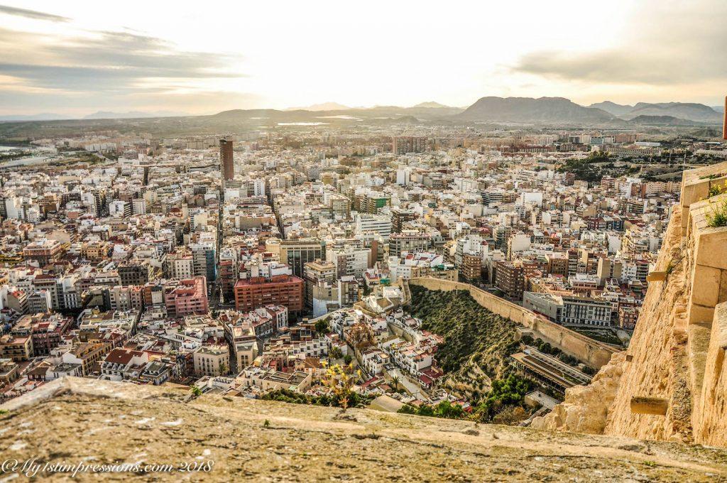 Alicante, castle, spain