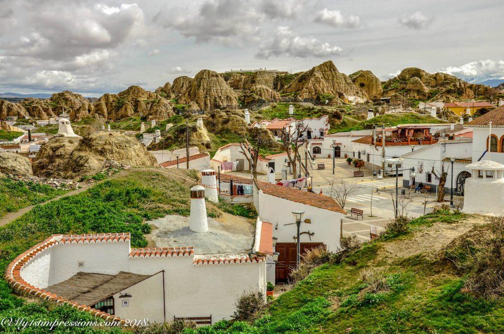Guadix, Andalusia, Spain, cave houses, casas cuevas
