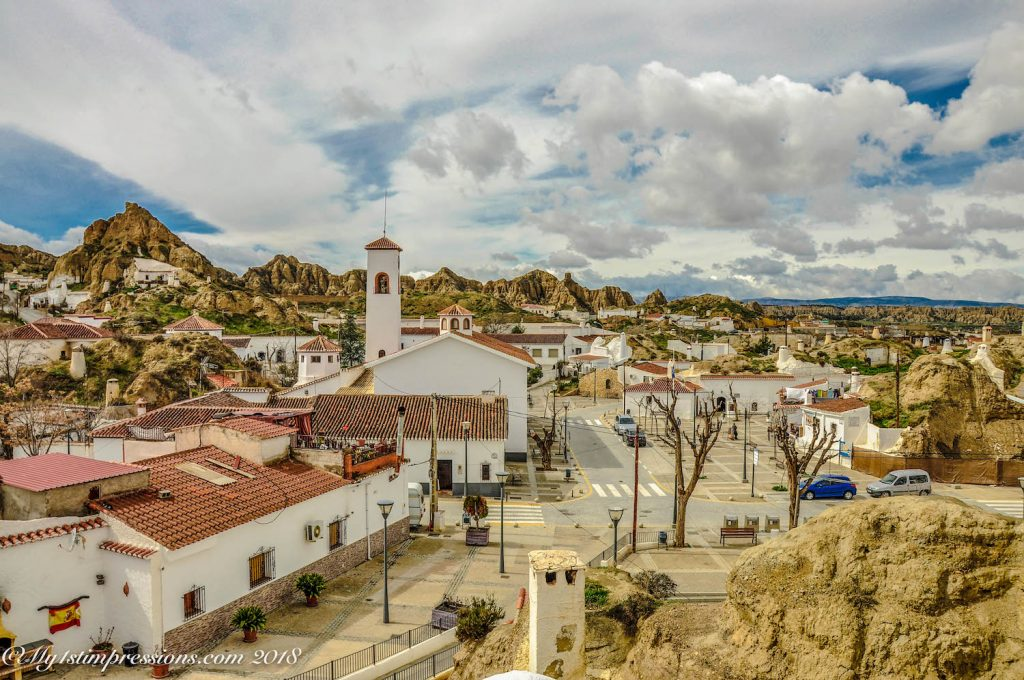guadix, spain, andalusia, caves