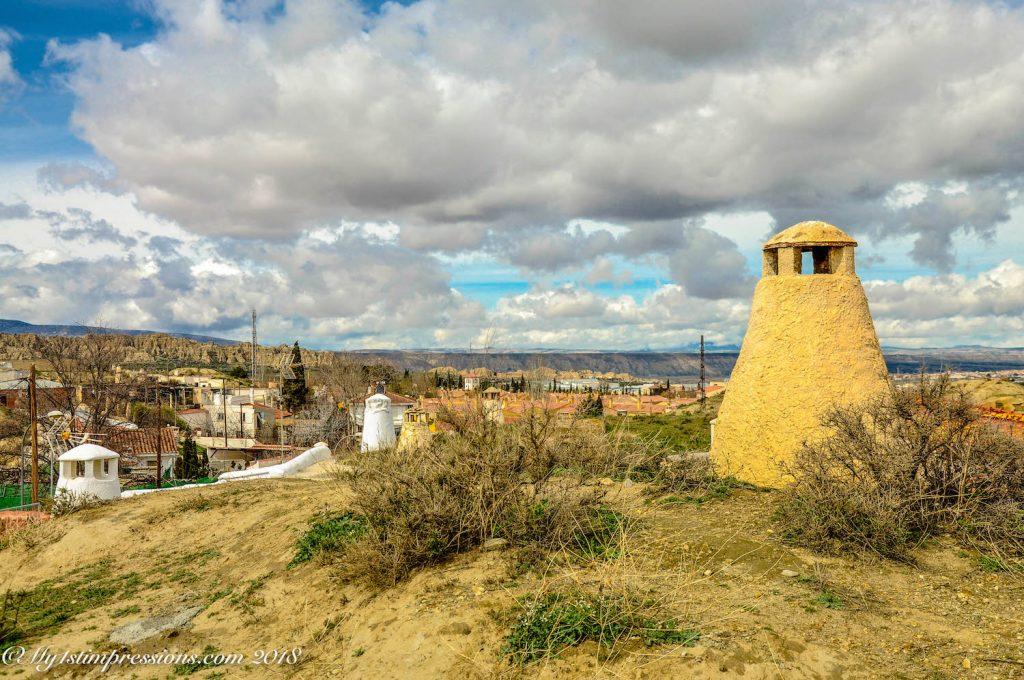 Guadix, cave houses, Spain
