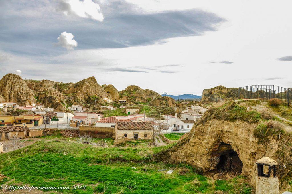 guadix, spain, cave houses