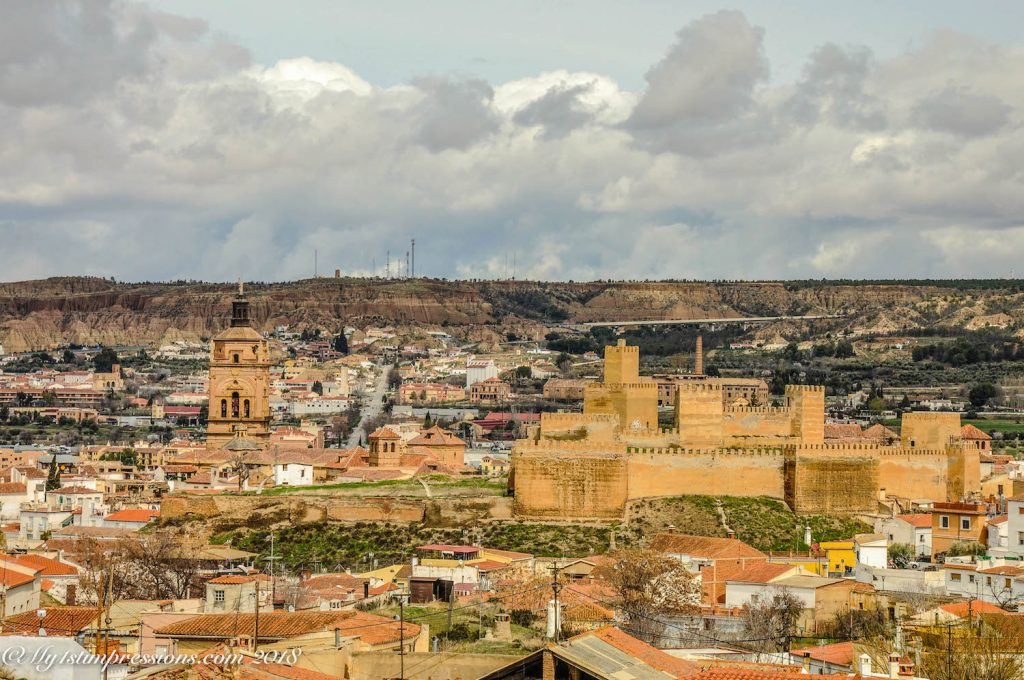 guadix, Moorish castle, Andalusia, Spain