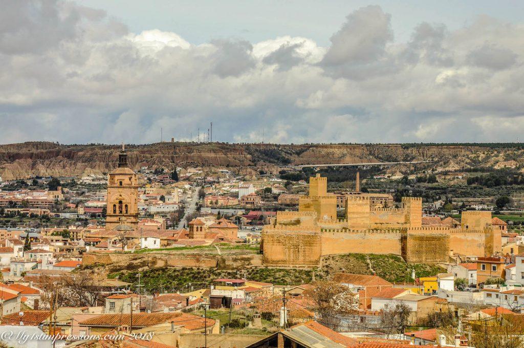 guadix, Moorish castle, Andalusia, Spain
