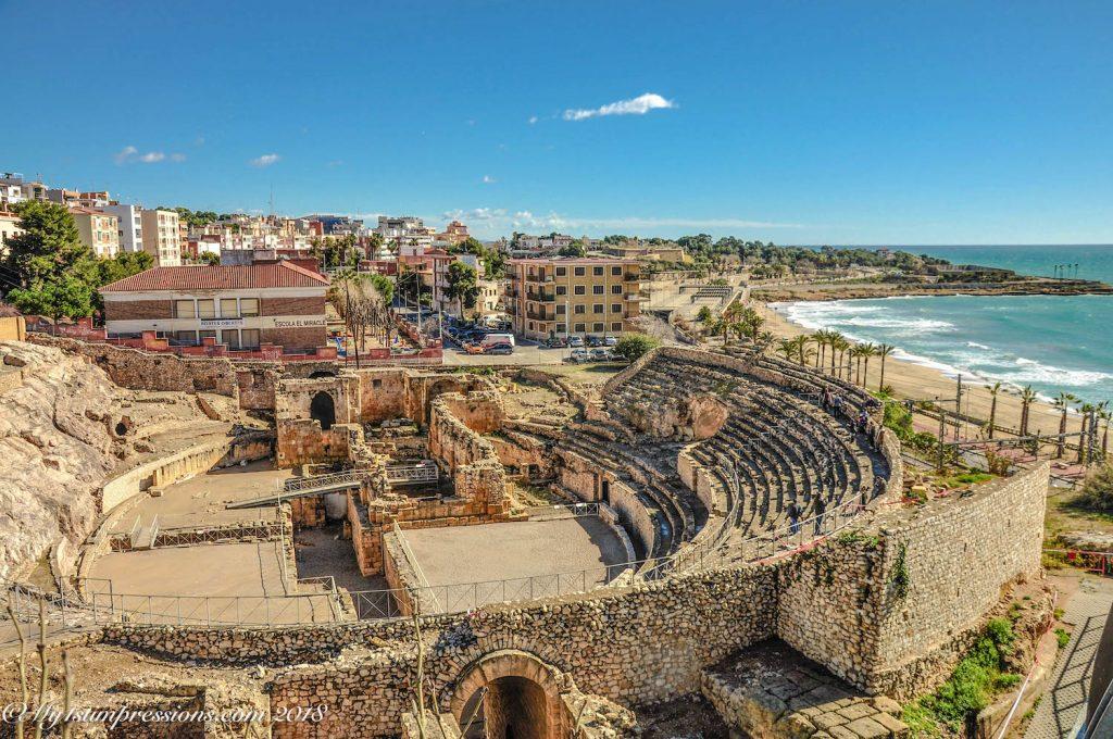 Tarragona, Roman Amphiteatre, Spain, catalunya