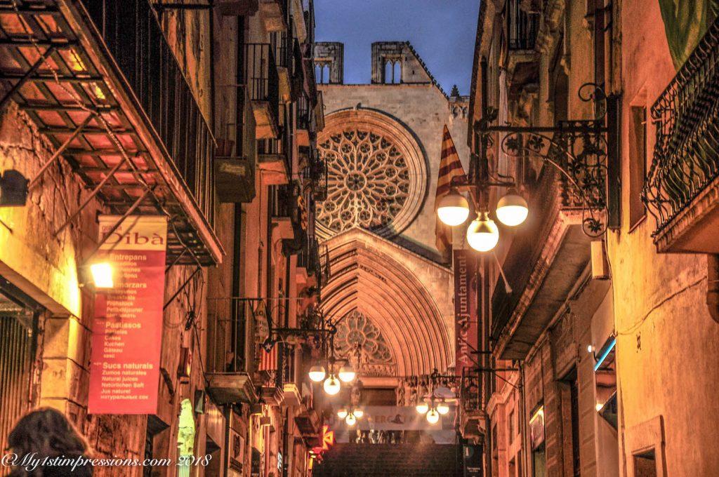 Tarragona, cathedral, catalunya