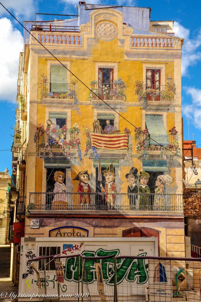 tarragona, street art, Spain, Catalunya