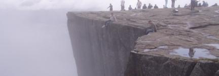 Prekenstolen, on the rock!