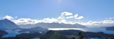 Bariloche, touching the blue