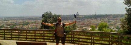 Antonio, across Italy on foot