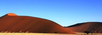 Unbelievable places: Soussuvlei sand dunes, Namibia