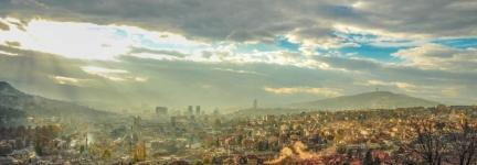 Sarajevo's scars and roses