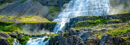 Dynjandi waterfall: pearl of the WestFjords