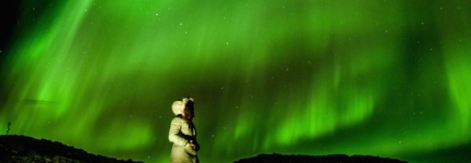 Northern Lights:The dance of the Green Spirits