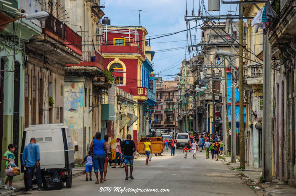 With No Internet Old Fashion Way To Handle Social Life In Cuba Is Mainly The Street